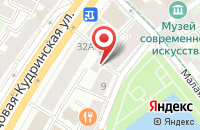 Схема проезда до компании Стройвертикаль в Москве
