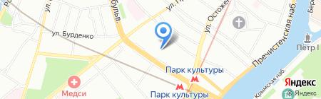 ЦДН на карте Москвы