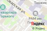 Схема проезда до компании Кружева в Москве
