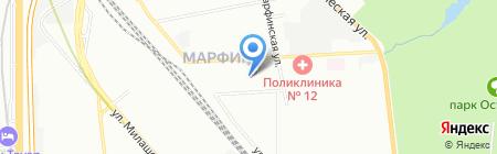 Хорошая аптека на карте Москвы