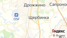 Гостиницы города Захарьино на карте