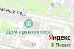 Схема проезда до компании Союз московских архитекторов в Москве