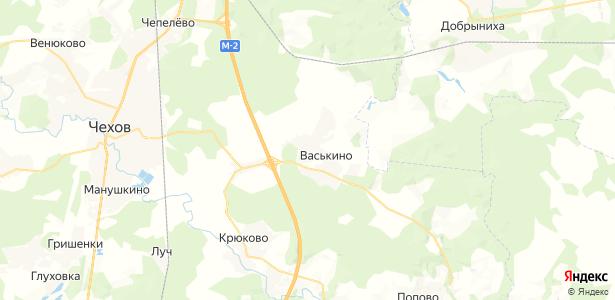 Васькино на карте