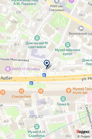 ИНВЕСТИЦИОННО-СТРОИТЕЛЬНАЯ КОМПАНИЯ АРТ-БИЛДИНГ на карте Москвы
