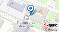 Компания Посольство Исландии в г. Москве на карте