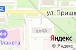 Схема проезда до компании Автостоянка на ул. Пришвина в Москве