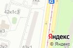 Схема проезда до компании Тебриз в Москве
