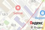 Схема проезда до компании Управление Федеральной службы государственной регистрации в Москве