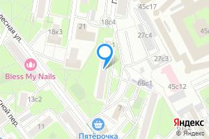 Снять комнату в трехкомнатной квартире в Москве ул. Новолесная, д.18