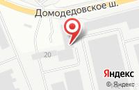 Схема проезда до компании Академия Гостемприимства в Подольске