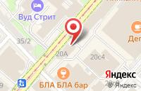 Схема проезда до компании Лига в Москве