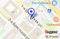 Схема проезда до компании МОСКОВСКОЕ ПРЕДСТАВИТЕЛЬСТВО ПТФ RONDE@SCHWARZ в Москве