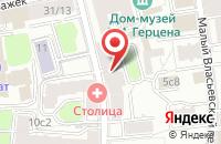 Схема проезда до компании Трест в Москве