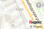 Схема проезда до компании Sleepy House в Москве