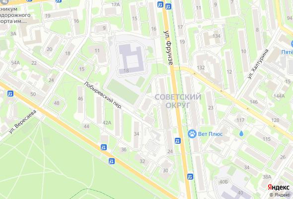 купить квартиру в ЖК по ул. Фрунзе, 20а
