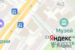 Схема проезда до компании Kams в Москве