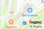 Схема проезда до компании Секундочку в Москве
