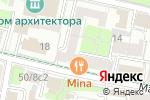 Схема проезда до компании Контакт-Культура в Москве