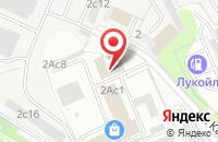 Схема проезда до компании Удачный в Москве