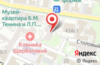 Схема проезда до компании Мегатрест-Инвест в Москве