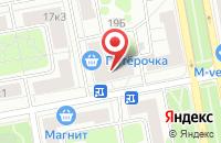 Схема проезда до компании Ремстрой в Москве