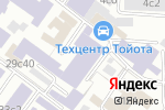 Схема проезда до компании Нью Спорт Компани в Москве