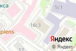 Схема проезда до компании Молодострой в Москве