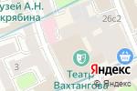 Схема проезда до компании Ведущий Дмитрий Кузнецов в Москве