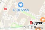 Схема проезда до компании Астростар в Москве