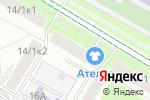 Схема проезда до компании Академ в Москве