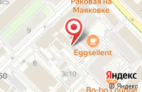 Схема проезда до компании Промэлемент в Москве