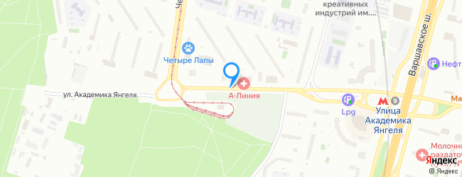 улица Академика Янгеля