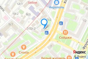 Двухкомнатная квартира в Москве толстого 20
