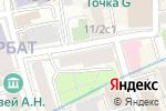 Схема проезда до компании Центр О в Москве