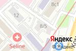 Схема проезда до компании Банковское дело в Москве