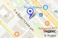 Схема проезда до компании ИКБ РОССИТА-БАНК в Москве
