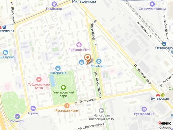Остановка 2-й Гончаровский пер. в Москве