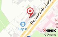 Схема проезда до компании Рбк-Сервис в Москве