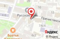Схема проезда до компании Новое Радио в Москве