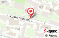 Схема проезда до компании Бизнес-Реклама Курьер в Москве