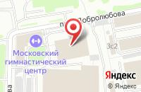 Схема проезда до компании Директ Инвест в Москве