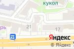 Схема проезда до компании FortDeluxe в Москве