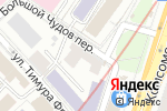 Схема проезда до компании Дикси-сервис в Москве