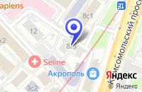Схема проезда до компании ИНФОРМАЦИОННОЕ АГЕНТСТВО ПАНЛОЛГ в Москве