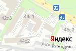 Схема проезда до компании Бирон в Москве