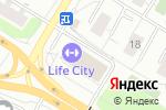 Схема проезда до компании Coins Market в Москве