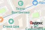 Схема проезда до компании Европейские стандарты и сертификация в Москве
