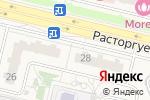 Схема проезда до компании Источник здоровья в Бутово