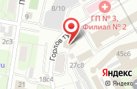 Схема проезда до компании Рем-Строй в Москве