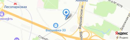 Декоративные и защитные покрытия на карте Москвы